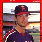 Chuck Finley - Angels 1990 Donruss Baseball Trading Card #344