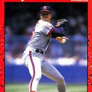 Jim Abbott #108 - Angels 1990 Donruss Baseball Trading Card