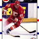 Joe Nieuwendyk - Flames 1990 Score Hockey Trading Card #30