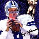 Troy Aikman - Cowboys 1999 Aurora Football Trading Card #40