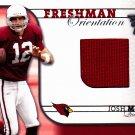 Josh McCown - Cardinals 2002 Donruss - event worn - Football Card #40