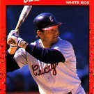 Carlton Fisk - White Sox 1990 Donruss Baseball Trading Card #58