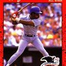 Julio Franco - Rangers 1990 Donruss Baseball Trading Card #701