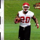 Thomas Jones - Chiefs 2010 Panini Threads Football Trading Card #73