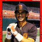 Benito Santiago #465 - Padres 1990 Donruss Baseball Trading Card