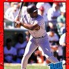 Santos Alomar Jr #30 - Padres 1990 Donruss Baseball Trading Card