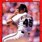 Steve Bedrosian #295 - Giants 1990 Donruss Baseball Trading Card