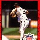Ricky Reuschel #663 - Giants 1990 Donruss Baseball Trading Card