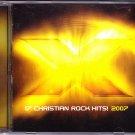X 2007 - 17 Christian Rock Hits CD 2007 - Very Good