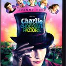 Charlie and the Chocolate Factory DVD 2005 - Very Good