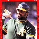 Dave Parker #328 - Athletics 1990 Donruss Baseball Trading Card