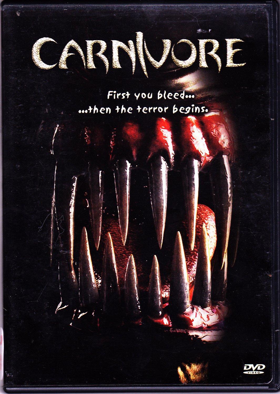 Carnivore DVD 2002 Widescreen - Very Good
