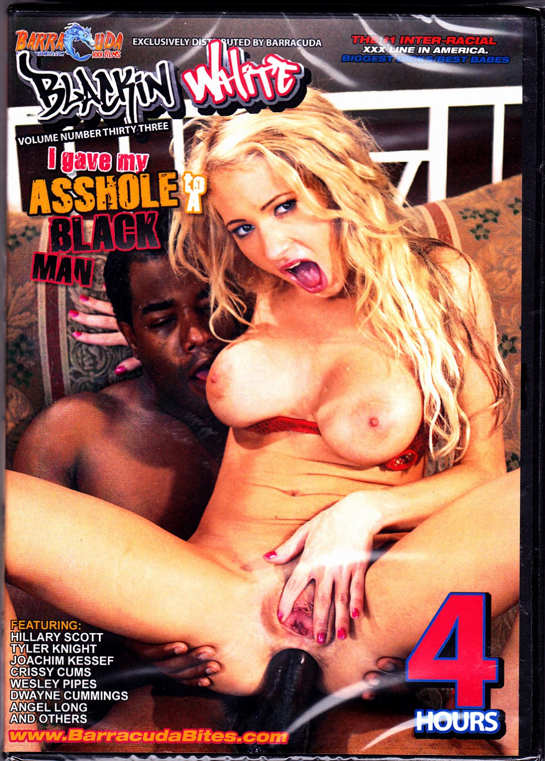 I Gave My Asshole to A Black Man - Adult DVD - Factory Sealed