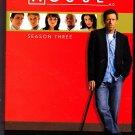 House - Season 3 DVD 2007, 5-Disc Set - Very Good