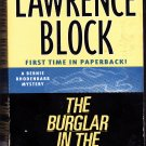 The Burglar in the Rye by Lawrence Block Paperback Book - Very Good