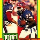 Thurman Thomas #11 - Bills 1990 Topps Football Trading Card