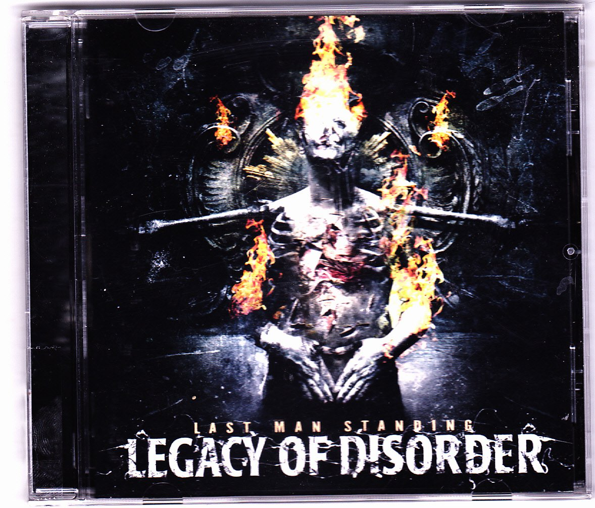 Last Man Standing by Legacy of Disorder CD 2012 - Very Good