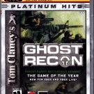 Tom Clancy's Ghost Recon - Xbox 2002 Video Game - Complete - Very Good