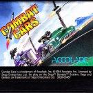 Combat Cars - Sega Genesis 1994 Video Game - Good