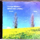 Winter into Spring by George Winston CD 1995 - Very Good