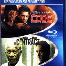 The Code & The Contract - Blu-ray Disc, 2011, 2-Disc Set - Very Good