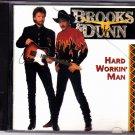 Hard Workin' Man by Brooks & Dunn CD 1993 - Very Good