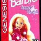 Barbie Super Model - Sega Genesis 1992 Video Game - Very Good - COMPLETE