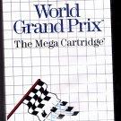 World Grand Prix - Sega Master System 1986 Video Game - Very Good