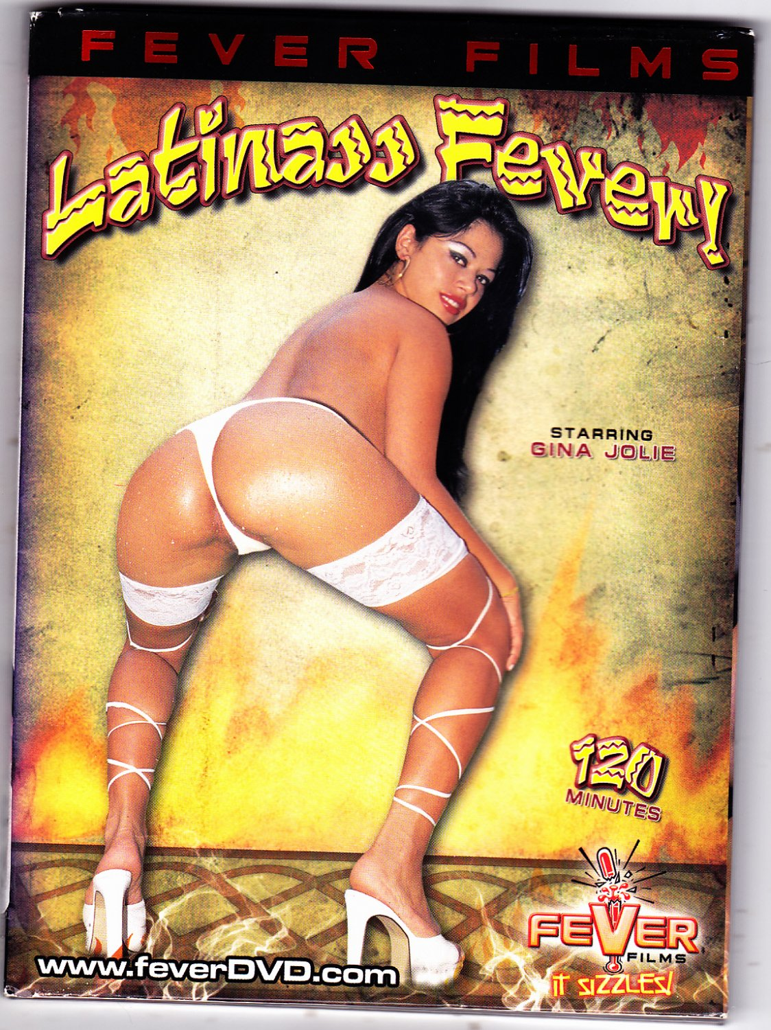 Latinass Fever - Adult DVD - COMPLETE