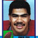 Junior Seau #381 - Chargers 1990 Topps Football Trading Card