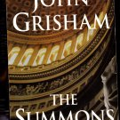 The Summons by John Grisham 2002 Paperback Book - Very Good