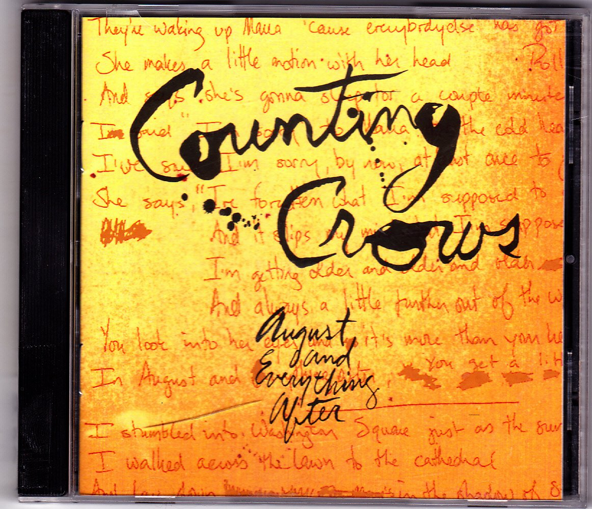 August and Everything After by Counting Crows CD 1993 - Very Good