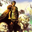 Lord of the Wolves #42 - Boris 1992 Fantasy Art Trading Card