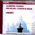 I Music by Albinoni - Adagio - Pachelbel - Canon & Gigue Concerto CD 1970 - Good