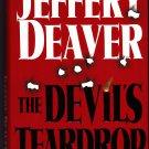 The Devil's Teardrop by Jeffery Deaver 1999 Hardcover Book - Very Good