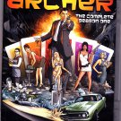Archer - Season 1 DVD 2010, 2-Disc Set - Very Good