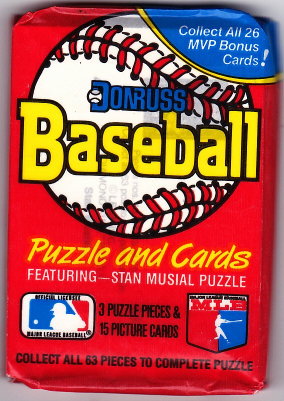 Donruss 1988 Baseball Cards Factory Sealed Pack