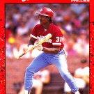 Steve Jeltz #133 - Phillies 1990 Donruss Baseball Trading Card