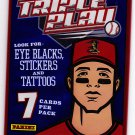 Panini Triple Play 2013 Baseball Cards Factory Sealed Pack