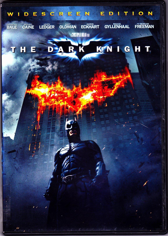 The Dark Knight DVD 2008, Widescreen - Very Good
