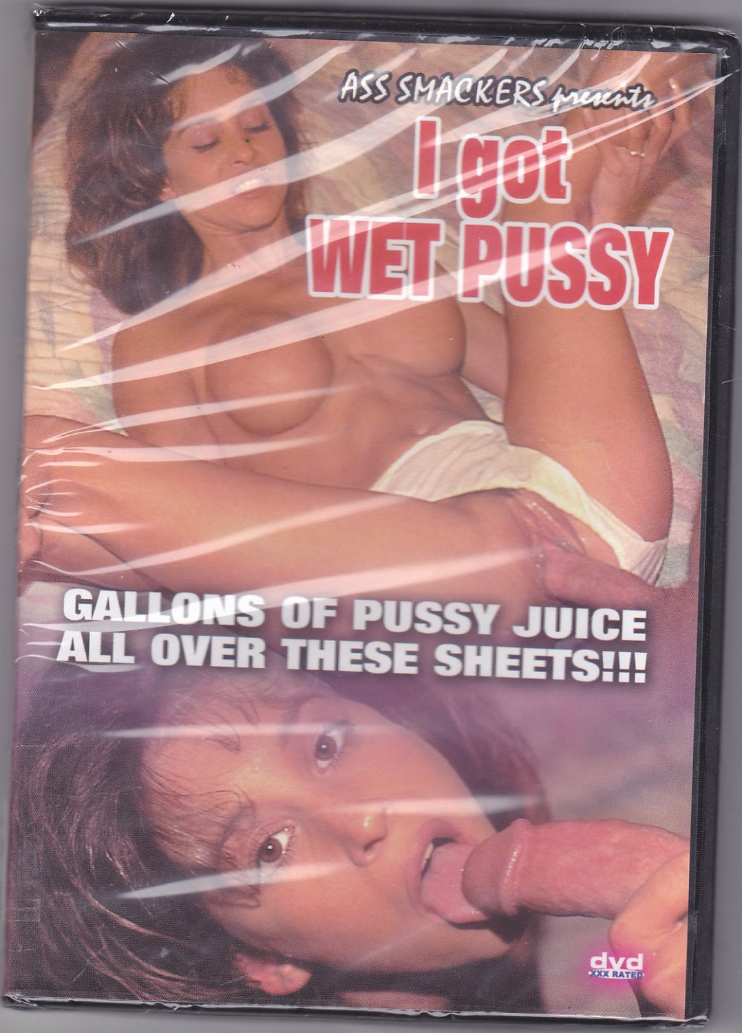 I Got Wet Pussy - Adult DVD - Factory Sealed