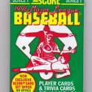 Score 1991 Baseball Cards Factory Sealed Pack