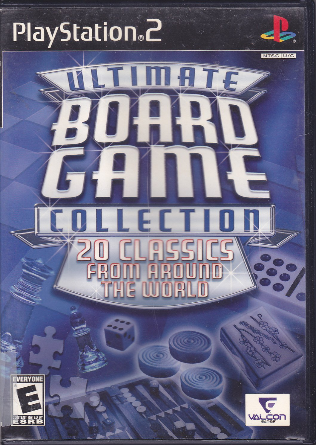 Ultimate Board Game Collection - Playstation 2 Video Game - COMPLETE - Very Good