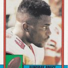 Aundray Bruce #474 - Falcons 1990 Topps Football Trading Card