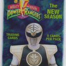 Mighty Morphin Power Rangers 1994 Trading Card Pack Factory Sealed