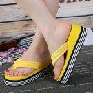 Women's - Wedge Flip Flops, Sandals, Non-Slip (Size 7) - Brand New