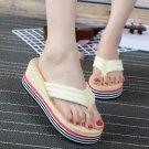 Women's - Wedge Flip Flops, Sandals, Non-Slip (Size 8) - Brand New