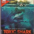 3-Movie Set - Toxic Shark, Beneath The Mississippi & Croczilla DVD 2018 - Very Good