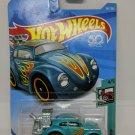 Volkswagon Beetle #347 Blue - 2017 Hot Wheels - Brand New