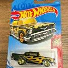 '57 Chevy Black w/flames - 2017 Hot Wheels - Brand New
